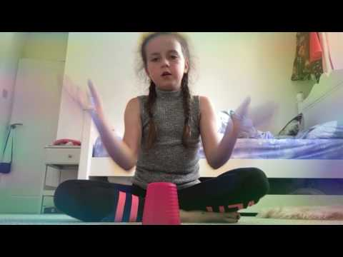 How to do the cup song step by step with liv