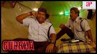 Gurkha Movie Scenes | Raj Bharath seizes the mall | Yogi Babu decides to save the hostages | Charle
