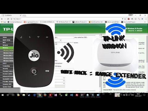 WiFi Tutorial: Use Router as Range Extender (Repeater)| JioFi