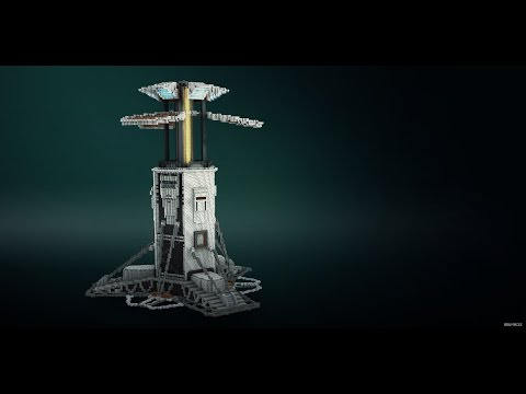 Minecraft Timelapse | SciFi Beacon