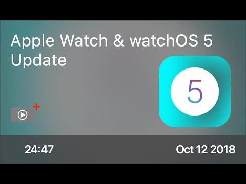 SCOM0777 -  Apple Watch & watchOS 5 Update - Preview