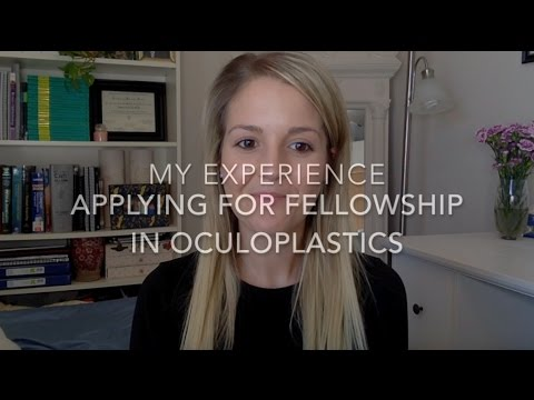 My Experience Matching Into Oculoplastics Fellowship