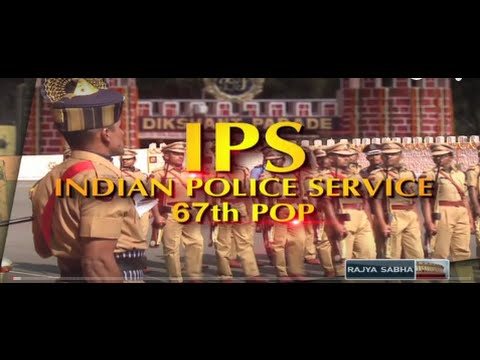 Passing out parade of the 67th IPS batch in Hyderabad