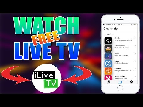 HOW TO WATCH LIVE TV FREE iOS 11/10/9 - No Jailbreak/PC