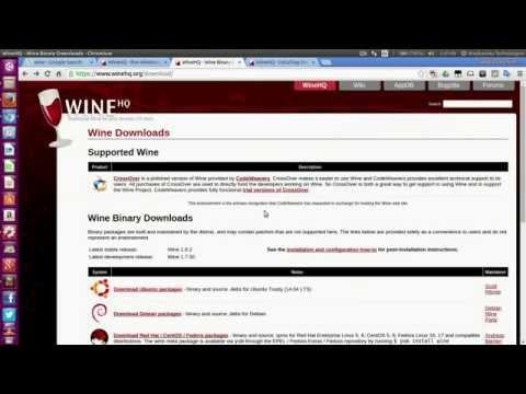 HOW TO INSTALL WINE ON UBUNTU