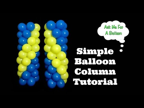Simple Balloon Column Tutorial
