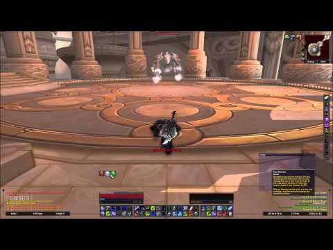 Vortex Pinnacle mount run (level 90 Death Knight)
