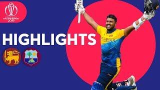 Fernando and Pooran Hit Maiden Tons | Sri Lanka v Windies - Highlights | ICC Cricket World Cup 2019