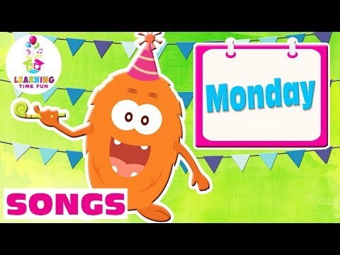 The Days of the Week | Kid's Learning Songs | Learning Time Fun | Days of the Week for Toddlers
