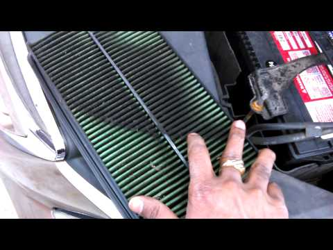 Engine air filter replace 2005 Honda Odyssey