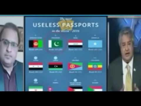 Pakistani passport is world top 10 worst passport in the world