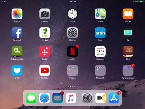 Setting up Inaburra Mail on iPad iPhone