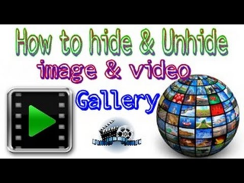 How To Hide Photos & Videos in Android Phone  apne android Hindi urdu video by official shahrukh