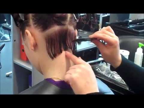 Learn how to create Short graduated bob NVQ level 2