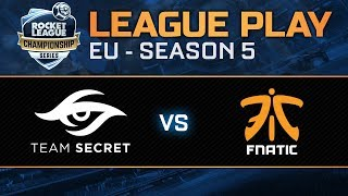 Team Secret Vs. Fnatic - Promotion Tournament