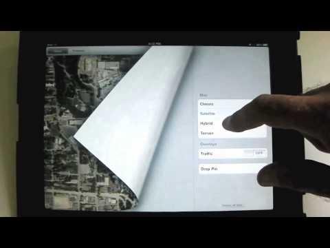 Using the Maps App - An iPad Mini Tutorial