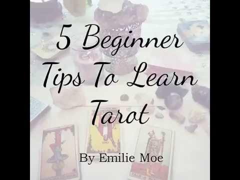 5 Beginner Tips To Learn Tarot
