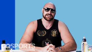 10 Things Tyson Fury Can't Live Without   GQ Sports