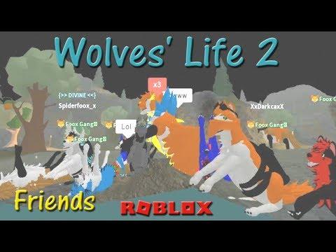 Roblox - Wolves' Life 2 - Friends IX - HD