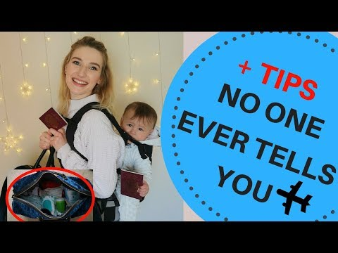WHAT TO TAKE ON A PLANE FOR BABIES || LONG HAUL FLIGHT