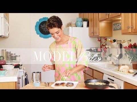 Model Bites: Eggnog French Toast