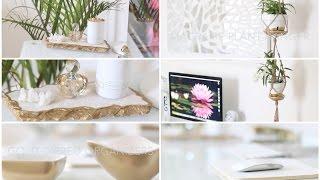 DIY Desk + Home Office Decor Ideas