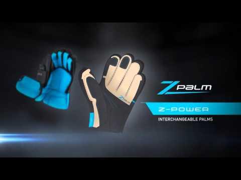 TRUE Hockey ZPalm Gloves