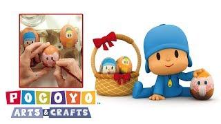 Pocoyo arts crafts uovi di pasqua ️cartoni animati videos