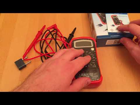 Rothewald Digital Multimeter - Multimeter test