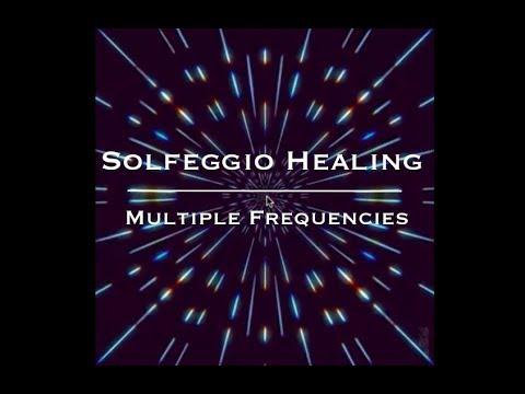 Solfeggio Healing ~ 174Hz + 285Hz + 528Hz ~ Solfeggio Pure Tones