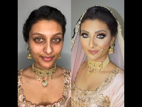 Indian | Bollywood | South Asian Bridal Makeup Start To Finish - @blueroseartistry