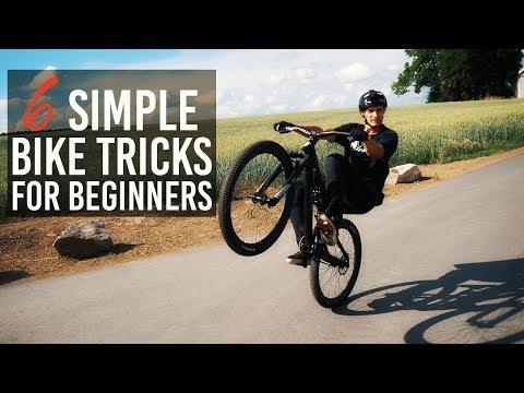 HOW TO: 6 SIMPLE BIKE TRICKS für BEGINNER (MTB/BMX)