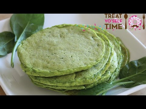 RECIPE: Spinach Protein Pancakes
