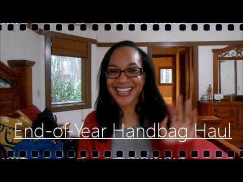 End-of-Year Handbag Haul: B. Makowsky, Vera Bradley, and more!