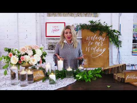 Create Your Own Greenery-Filled Wedding Decor with Lynzie Kent