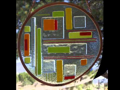 Beautiful Stained Glass Fused Glass Suncatchers