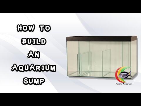 How To Build An Aquarium Sump.