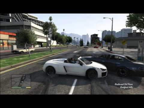 (18) PS3 HD GTA5 [Pt.2] The Game Crashes! GTAV Crash! Grand Theft Auto V / 5 Crashed!