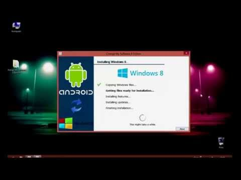 How to install Windows 8 on Android Tablet or Phone