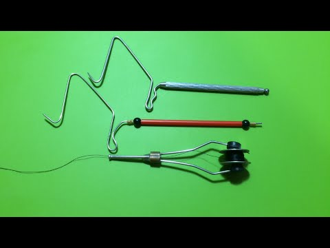 How to Make and Using a Whip Finishing Tool For Lure Making (1)Dụng Cụ Buộc Nút Kết Thúc