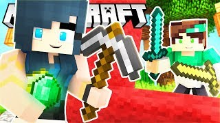 BUILDING A GIANT BASE in Minecraft Bed Wars!
