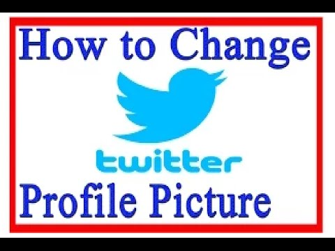 How To Change Twitter Profile Picture In Telugu