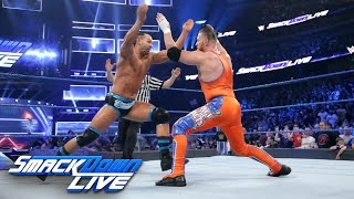 Tye Dillinger debuts against Curt Hawkins: SmackDown LIVE, April 4, 2017