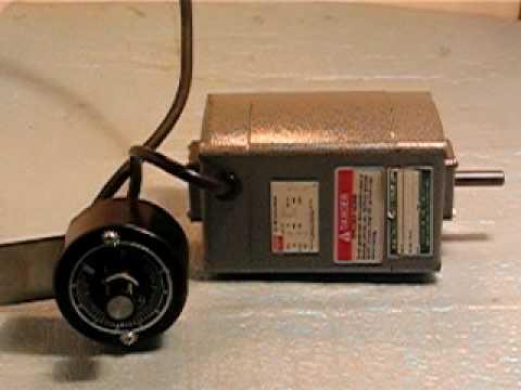 AC/DC 10,000 RPM MOTOR/SPEED CONTROL