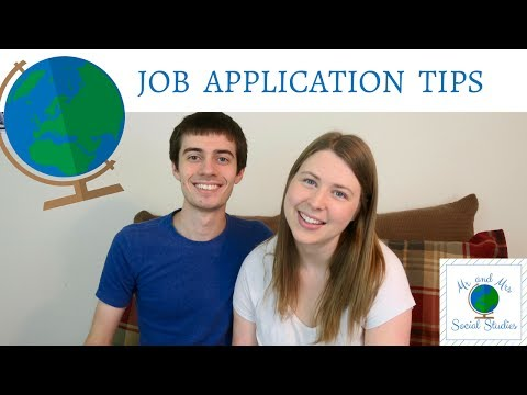 Tips for Completing Teacher Job Applications | Get A Teaching Job