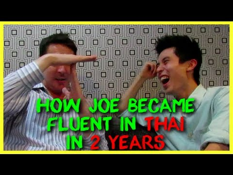 How Joe Learn Thai (Fluent) in 2 Years And My New Challenge Announcement!!!