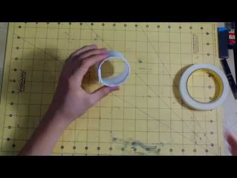 HOW TO MAKE A FLYING TUBE PAPER AIRPLANE