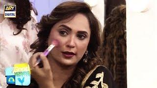 Rabab Khud Se Kis Tarah Ka Makeup Karti Hain? - Dekhiye