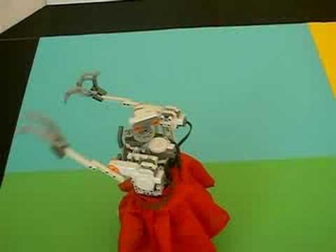 Lego NXT Dancing to the Rhythm