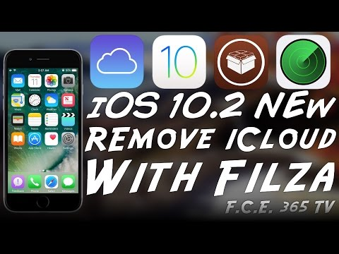 iOS 10.2 - How To Remove iCloud Account Using Filza (Jailbroken)
